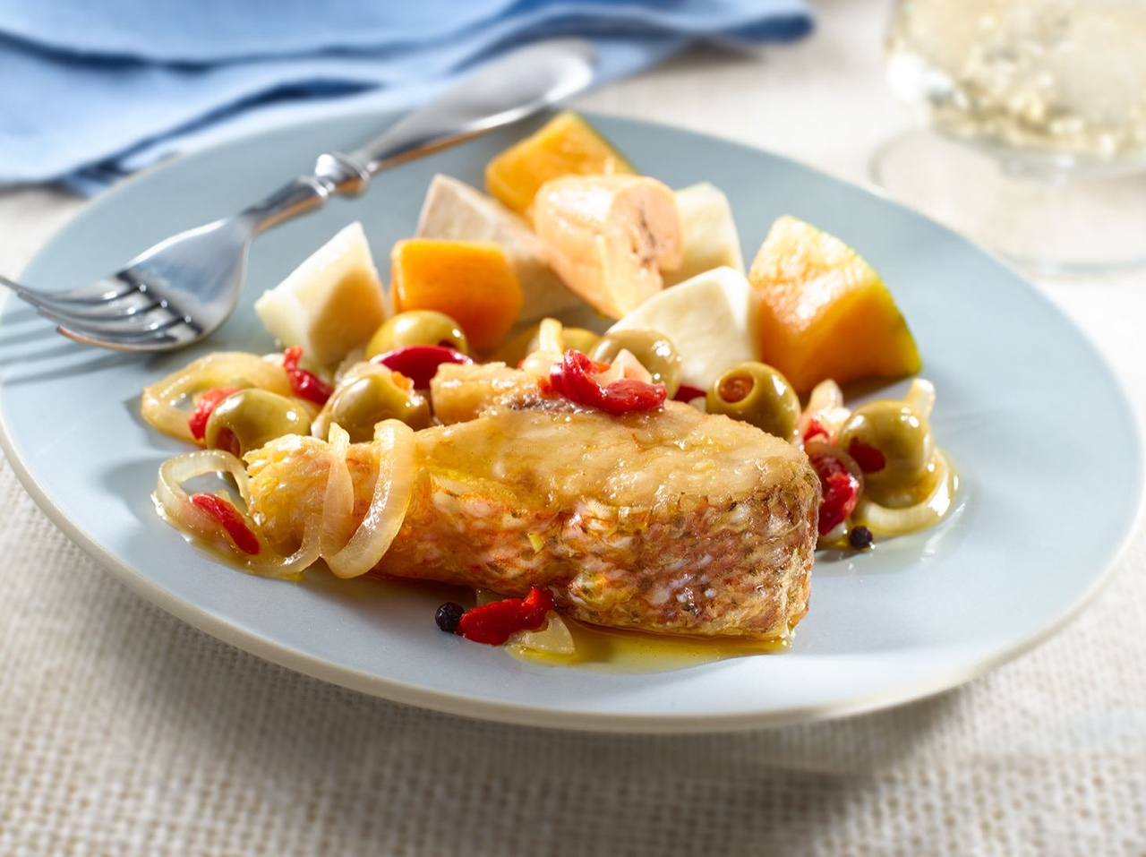 Marinated fish palo magazine cooking featured for Marinade for fish